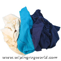 Colored t shirt rags shop towels only 28 bx buy for T shirt rags bulk