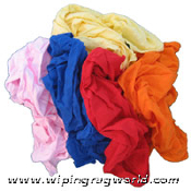 New Colored T-Shirt Rags 10# Box