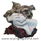 Colored Flannel Rags 10# box