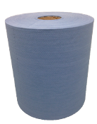 Jumbo Roll Shop Towel Blue