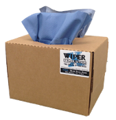Heavy Duty Blue Shop Towel WRW8